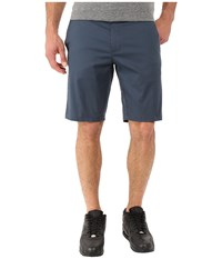 Rvca The Week End Stretch Shorts Midnight Men's Shorts Navy
