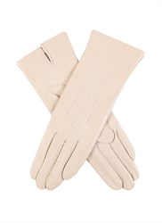Dents Ladies Silk Lined Leather Glove Cream