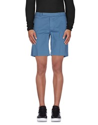 Fendi Trousers Bermuda Shorts Men Pastel Blue