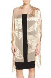 Echo Women's Evening Rose Print Wrap Champagne
