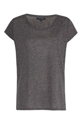 French Connection Hetty Marl T Shirt Grey