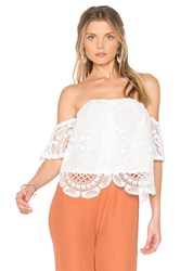 Vava By Joy Han Laia Top White