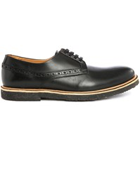 Paul And Joe Ilton Pr Black Smooth Leather Derbies