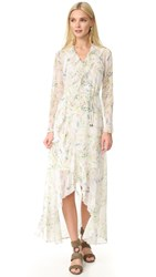 Ministry Of Style New Romantic Maxi Wrap Dress Botanical Print