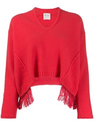 Forte Forte Loose Fit Fringed Jumper 60