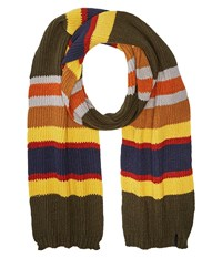 Pendleton National Park Scarf Badlands Stripe Scarves Black