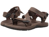 Columbia Big Water Leather Tobacco Super Sonic Men's Sandals Brown