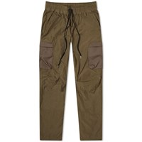 John Elliott High Shrunk Nylon Cargo Pant Brown