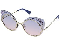 Marc Jacobs 161 S Str Blue Pink With Blue Gradient Lens Fashion Sunglasses