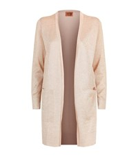 Missoni Lurex Cardigan Female Pink