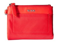Tumi Voyageur Double Zip Wallet Pink Wallet Handbags