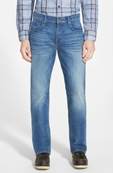 7 For All Mankind 'Brett' Bootcut Jeans Air Blue