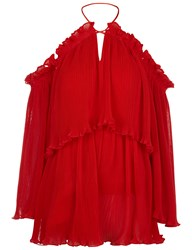 Alice Mccall Red Locomotion Playsuit