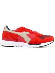 Diadora Lace Up Sneakers Red