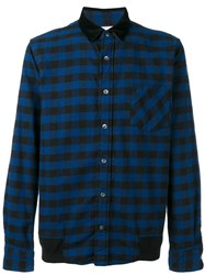 Sacai Plaid Shirt Black