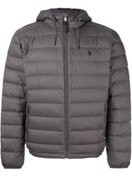 Polo Ralph Lauren Quilted Shell Jacket Grey