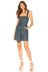 Clayton Valerie Dress Marina Denim