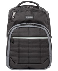 Kenneth Cole Wreck Backpack Black And Gray