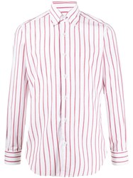 Barba Striped Button Shirt 60