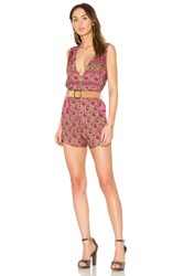Spell And The Gypsy Collective Kombi Romper Pink