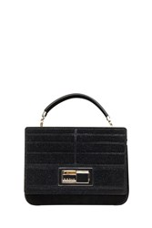 Elie Saab Embellished Shoulder Bag Black