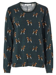 Tulchan Beagle Jumper Forest