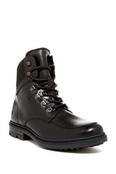 Kenneth Cole Well Kn Own Lace Up Boot Black