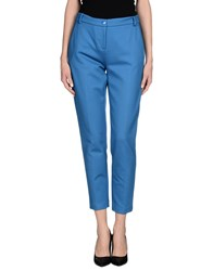 Pinko Trousers Casual Trousers Women Pastel Blue