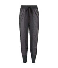 3.1 Phillip Lim Nylon Front Sweatpants Dark Grey