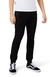 Topman Men's Pique Knit Jogger Pants Black