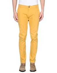 Department 5 Casual Pants Yellow