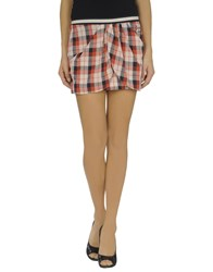 Guess Skirts Mini Skirts Women Red