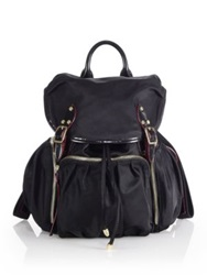 M Z Wallace Marlena Nylon Backpack Black