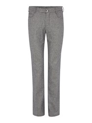 Chester Barrie Slim Fit 5 Pkt Trouser Grey