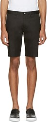 Dolce And Gabbana Black Cotton Shorts
