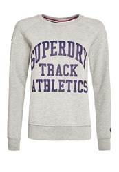 Superdry Athletics Crew Grey