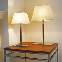 Bover Tau Mini Table Lamp Cream White