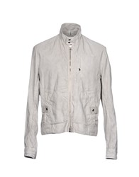 Domenico Tagliente Jackets Light Grey