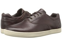 Olukai Makani Lace Leather Dark Wood Dark Wood Men's Shoes Brown