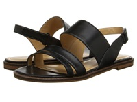 Enzo Angiolini Jabell Black Leather Women's Sandals