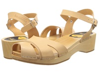 Swedish Hasbeens Suzanne Debutant Nature Women's Sandals Neutral