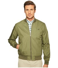 Fred Perry Tramline Bomber Jacket Olive Drab Men's Coat