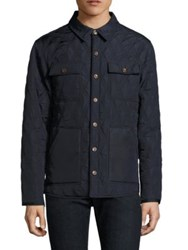 Rainforest Searcy Quilted Jacket Navy