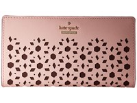 Kate Spade Cameron Street Perforated Stacy Pink Sunset Wallet
