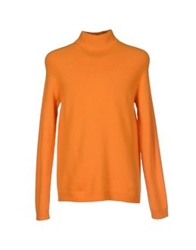 Dirk Bikkembergs Turtlenecks Orange