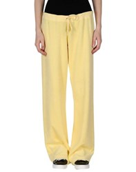 Juicy Couture Trousers Casual Trousers Women Light Yellow