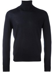 Cruciani Turtleneck Jumper Blue