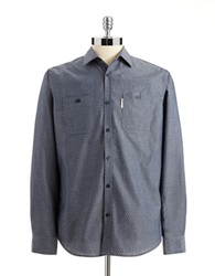Ecko Unlimited Sierra Button Down Shirt Blue