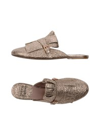 Gianna Meliani Mules Copper