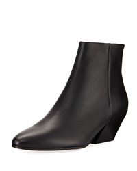 Vince Vaughn Leather Ankle Boot Black